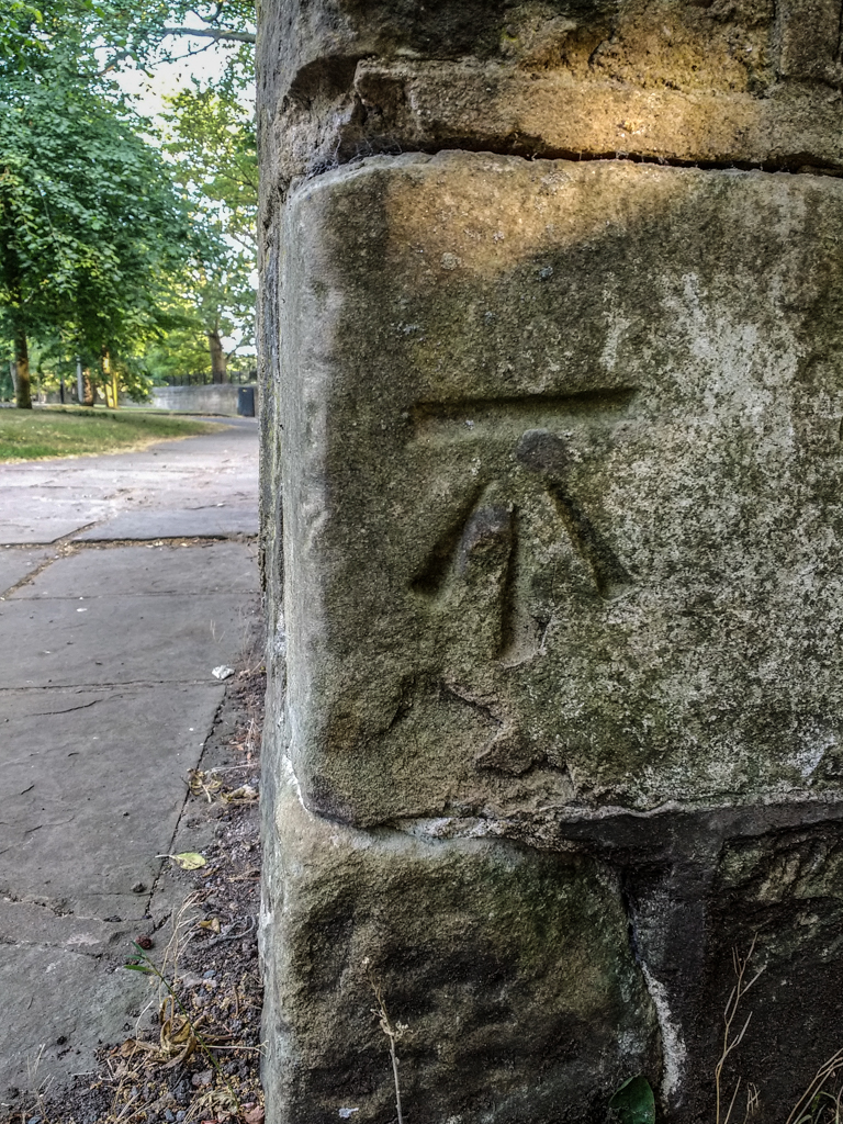 CUT BENCH MARK- OLD Pk. ROAD -1.jpg