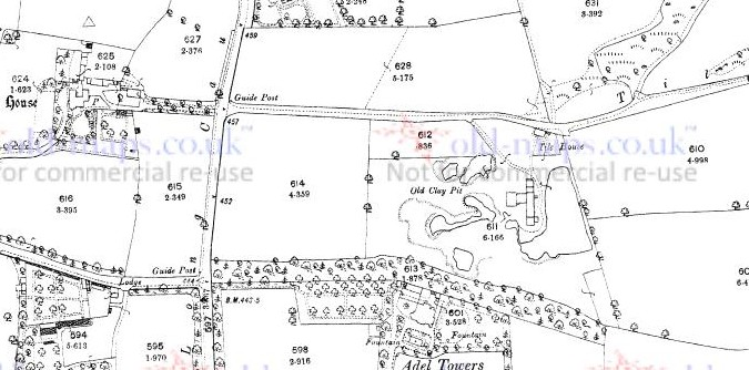 map around where adel towers would be  adel towers c 1851..jpg