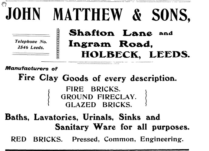 John Matthews advert from 1916 Kellys directory.jpg